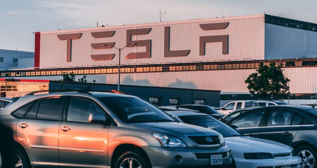 Tesla bilfabrik